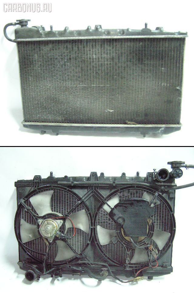 Радиатор ДВС NISSAN PRIMERA P10 SR18DE. Фото 1