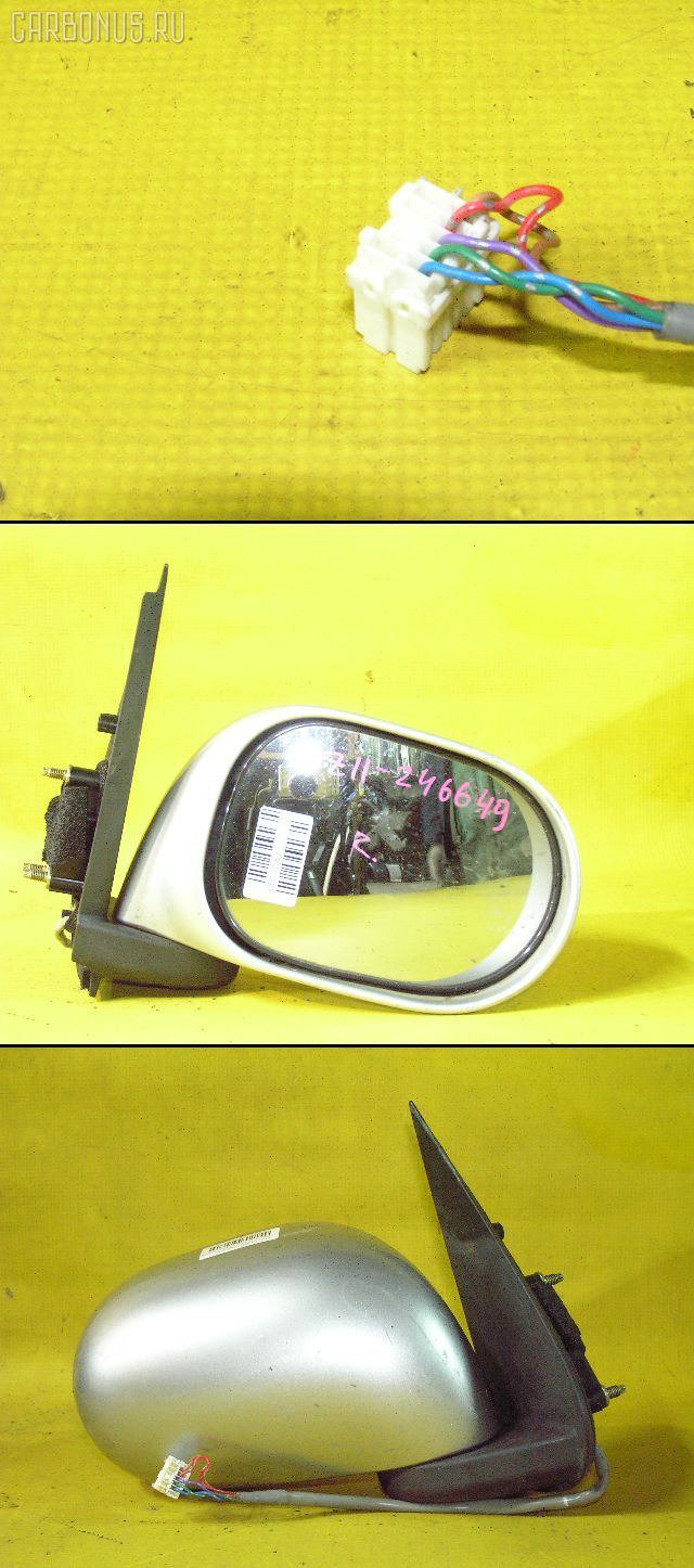 Зеркало двери боковой NISSAN CUBE BZ11. Фото 8