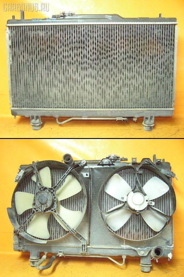 Радиатор ДВС TOYOTA CALDINA ST210G 3S-FE. Фото 3