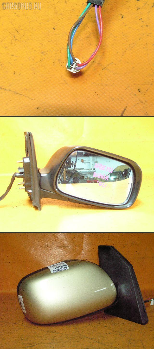 Зеркало двери боковой TOYOTA COROLLA RUNX NZE121. Фото 3