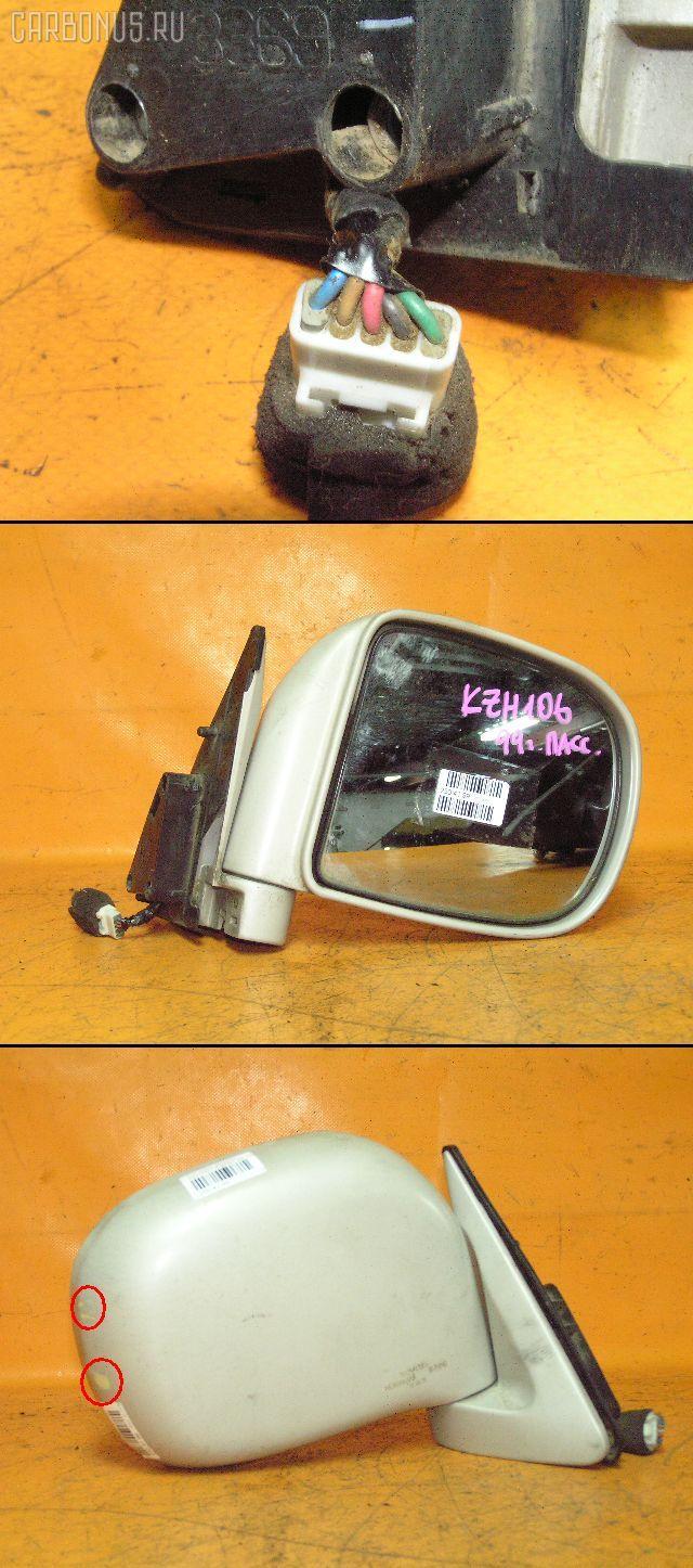 Зеркало двери боковой TOYOTA HIACE KZH106G. Фото 4