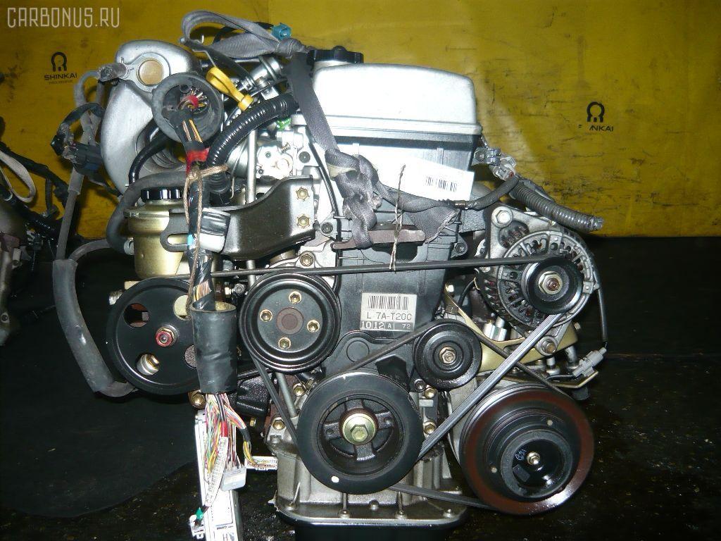 Двигатель TOYOTA AT211 7A-FE. Фото 1