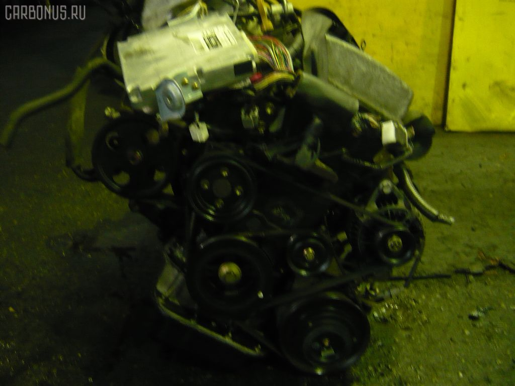 Двигатель TOYOTA CALDINA AT211G 7A-FE. Фото 6