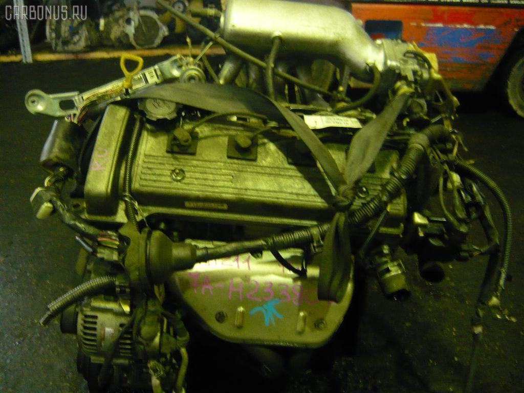 Двигатель TOYOTA CALDINA AT211G 7A-FE. Фото 7