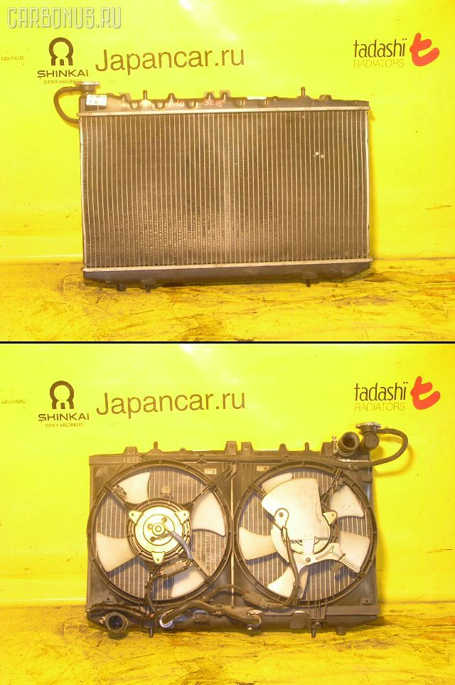 Радиатор ДВС NISSAN PRIMERA P10 SR18DE. Фото 2