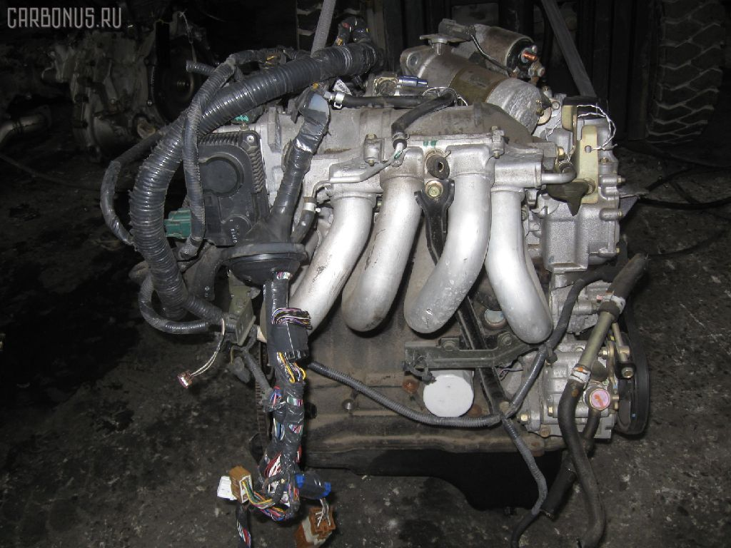 Двигатель NISSAN WINGROAD WHNY11 QG18DE. Фото 5