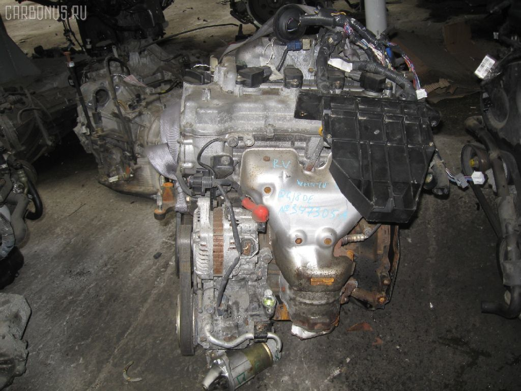 Двигатель NISSAN WINGROAD WHNY11 QG18DE. Фото 8