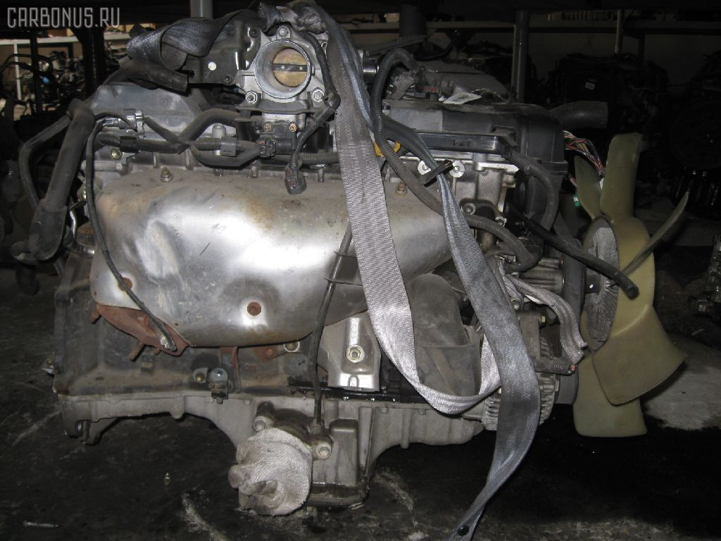 Двигатель TOYOTA CROWN JZS153 1JZ-GE. Фото 5