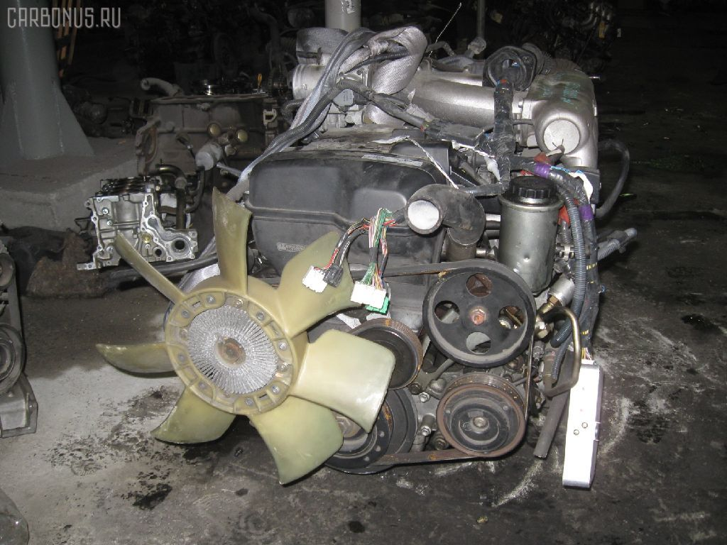 Двигатель TOYOTA CROWN JZS153 1JZ-GE. Фото 8