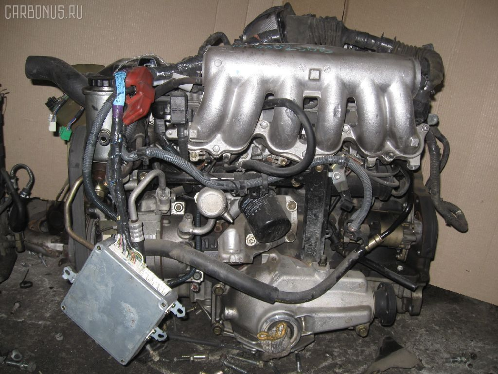 Двигатель TOYOTA CROWN JZS153 1JZ-GE. Фото 1