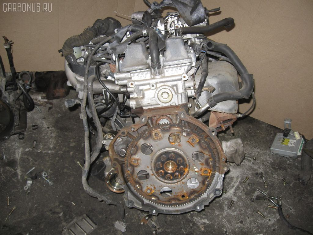 Двигатель TOYOTA CROWN JZS153 1JZ-GE. Фото 4