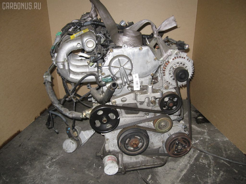 Двигатель NISSAN LIBERTY RM12 QR20DE. Фото 3