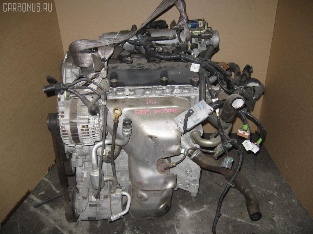 Двигатель NISSAN LIBERTY RM12 QR20DE. Фото 4