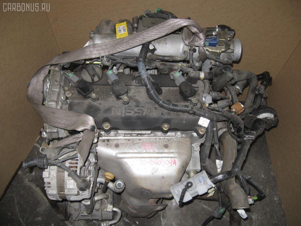 Двигатель NISSAN LIBERTY RM12 QR20DE. Фото 5
