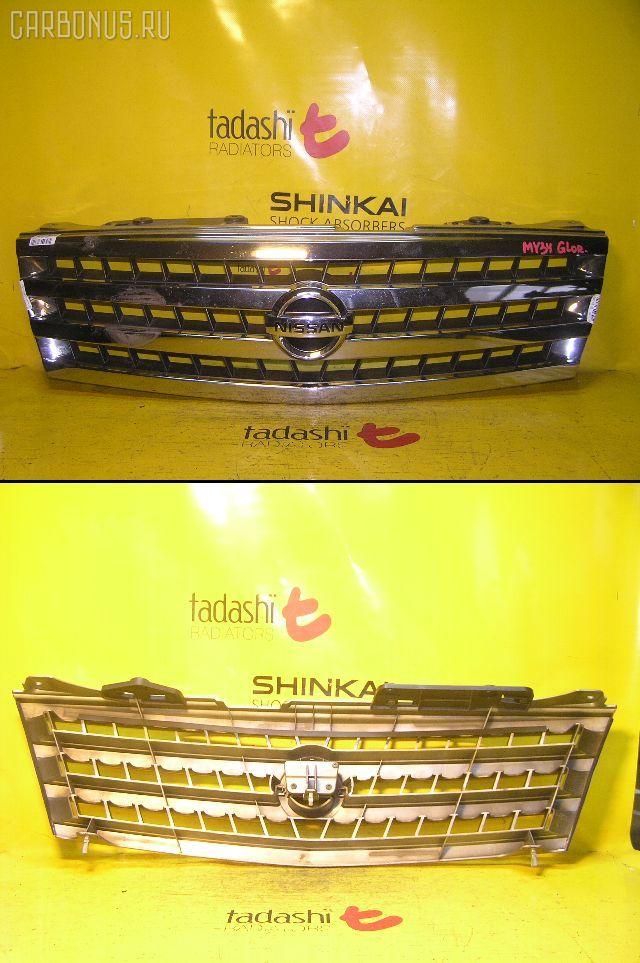 Решетка радиатора NISSAN GLORIA MY34. Фото 3