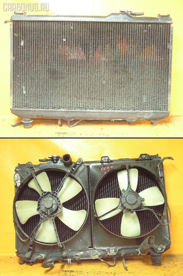 Радиатор ДВС TOYOTA VISTA SV33 3S-FE. Фото 1