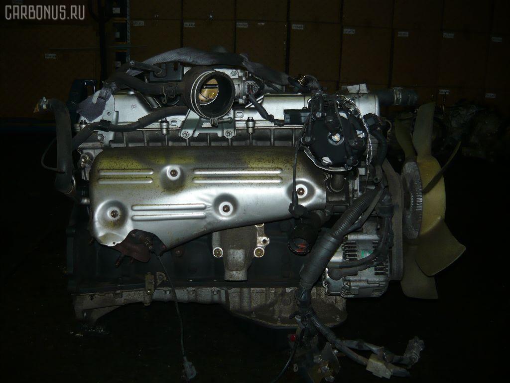 Двигатель TOYOTA MARK II JZX81 1JZ-GE. Фото 2