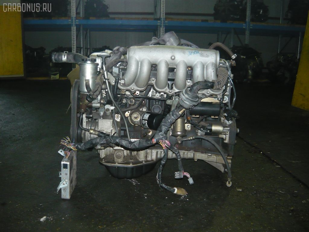 Двигатель TOYOTA MARK II JZX81 1JZ-GE. Фото 3