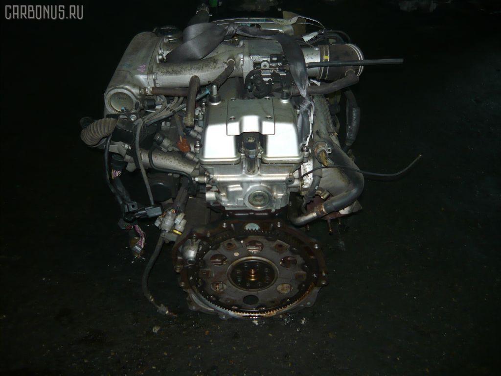 Двигатель TOYOTA CRESTA JZX81 1JZ-GE. Фото 4