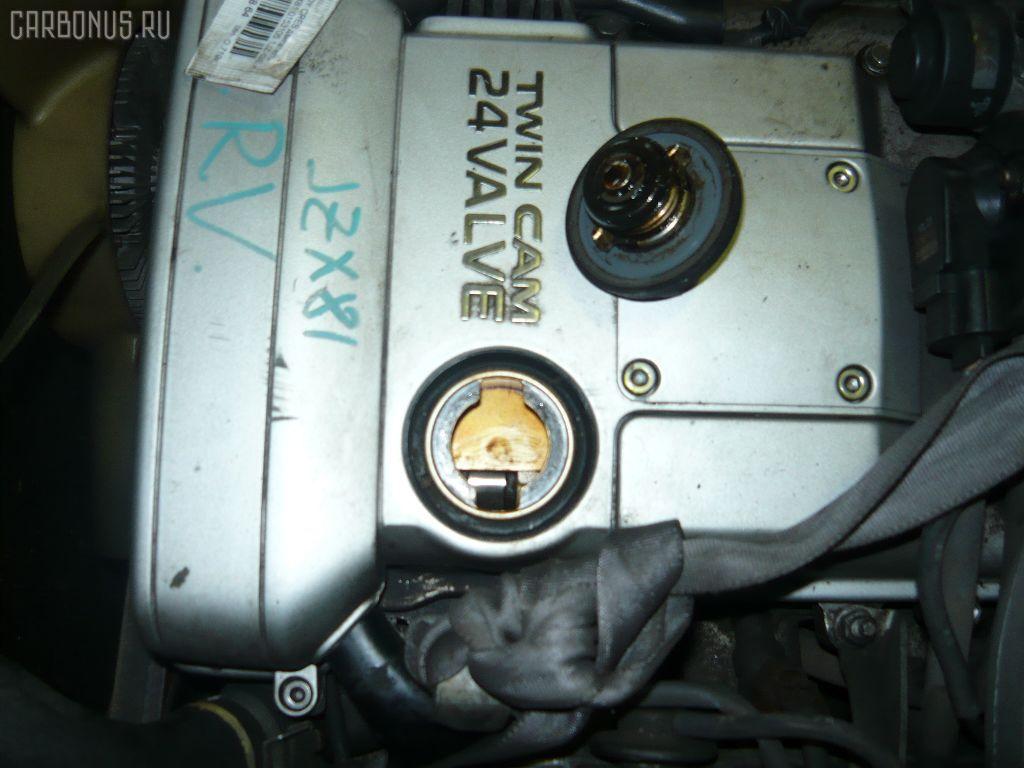 Двигатель TOYOTA MARK II JZX81 1JZ-GE. Фото 6