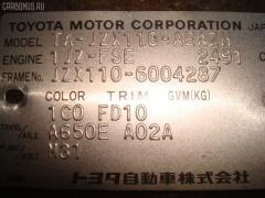 Дверь боковая Toyota Mark ii JZX110 Фото 2