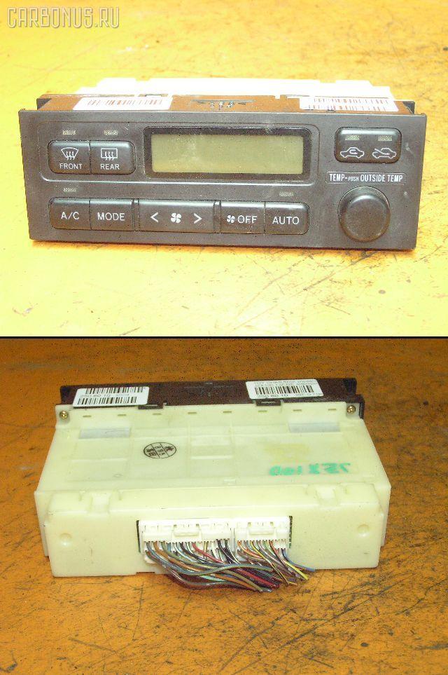 Блок управления климатконтроля TOYOTA CHASER JZX100 1JZ-GE. Фото 1