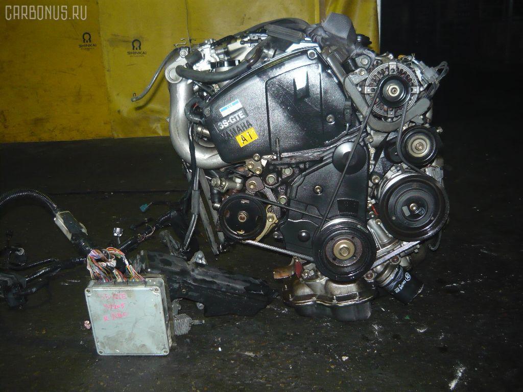 Двигатель TOYOTA CELICA ST205 3S-GTE. Фото 1