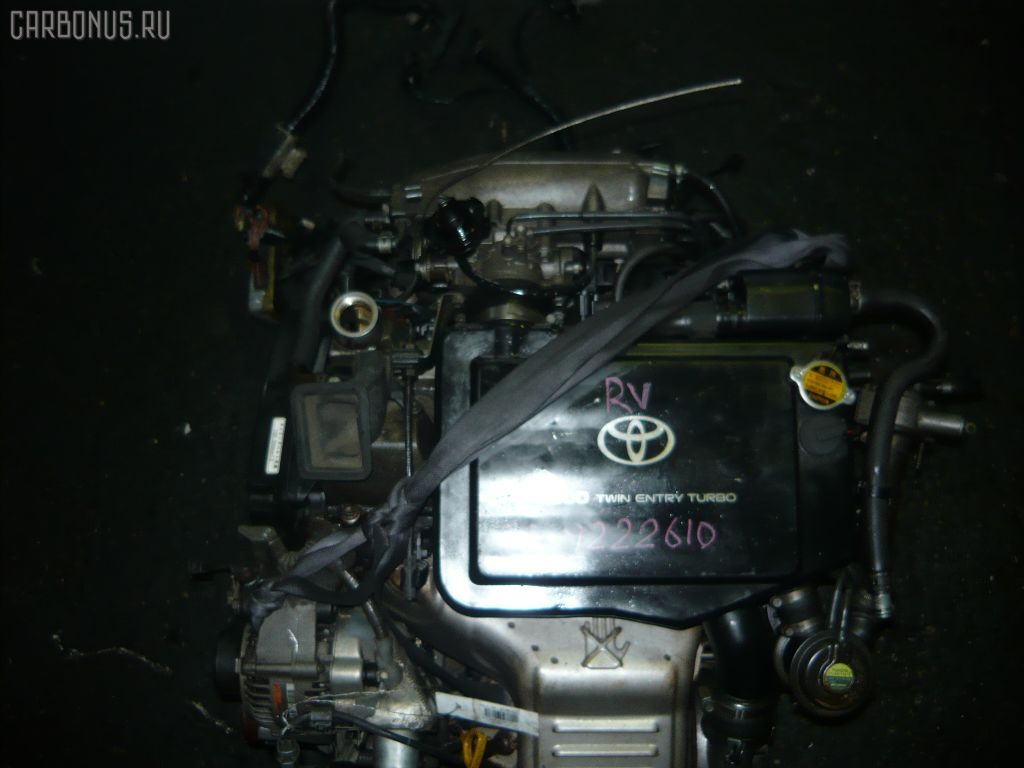 Двигатель TOYOTA CELICA ST205 3S-GTE. Фото 5