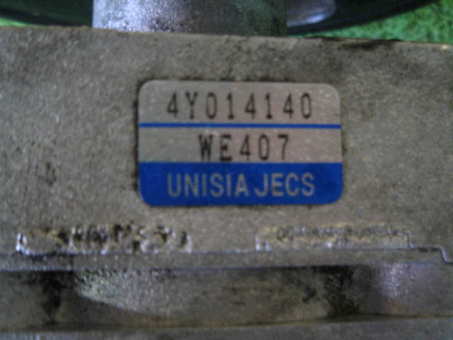 Насос гидроусилителя NISSAN WINGROAD WFY11 QG15DE. Фото 4