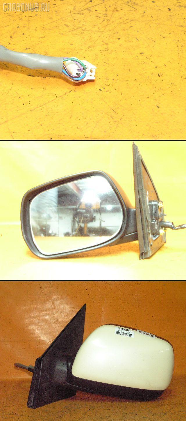 Зеркало двери боковой TOYOTA RAUM NCZ20. Фото 8