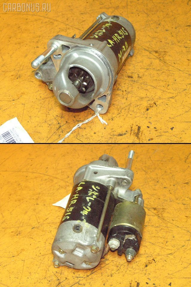 Стартер SUZUKI CHEVROLET CRUZE HR51S M13A. Фото 2