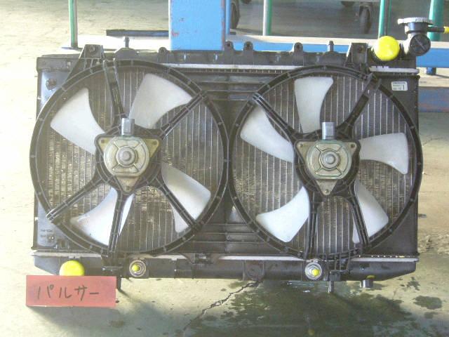 Радиатор ДВС NISSAN PULSAR FN15 GA15DE. Фото 5