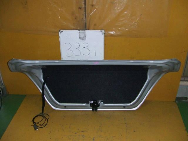 Крышка багажника NISSAN TIIDA LATIO SC11. Фото 10