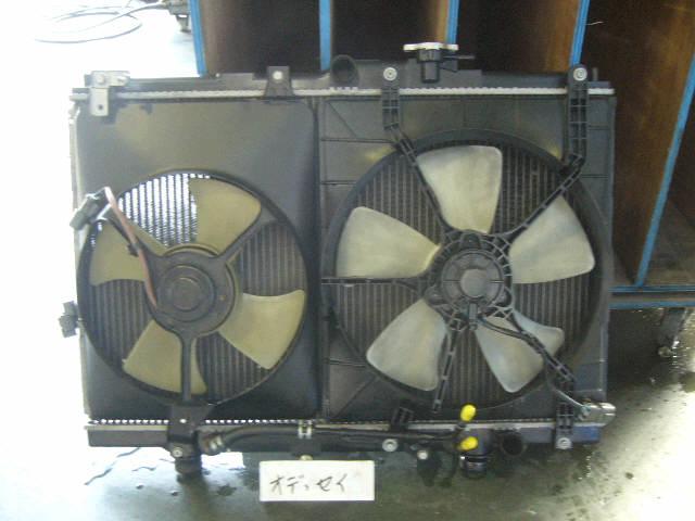 Радиатор ДВС HONDA ODYSSEY RA4 F23A. Фото 9