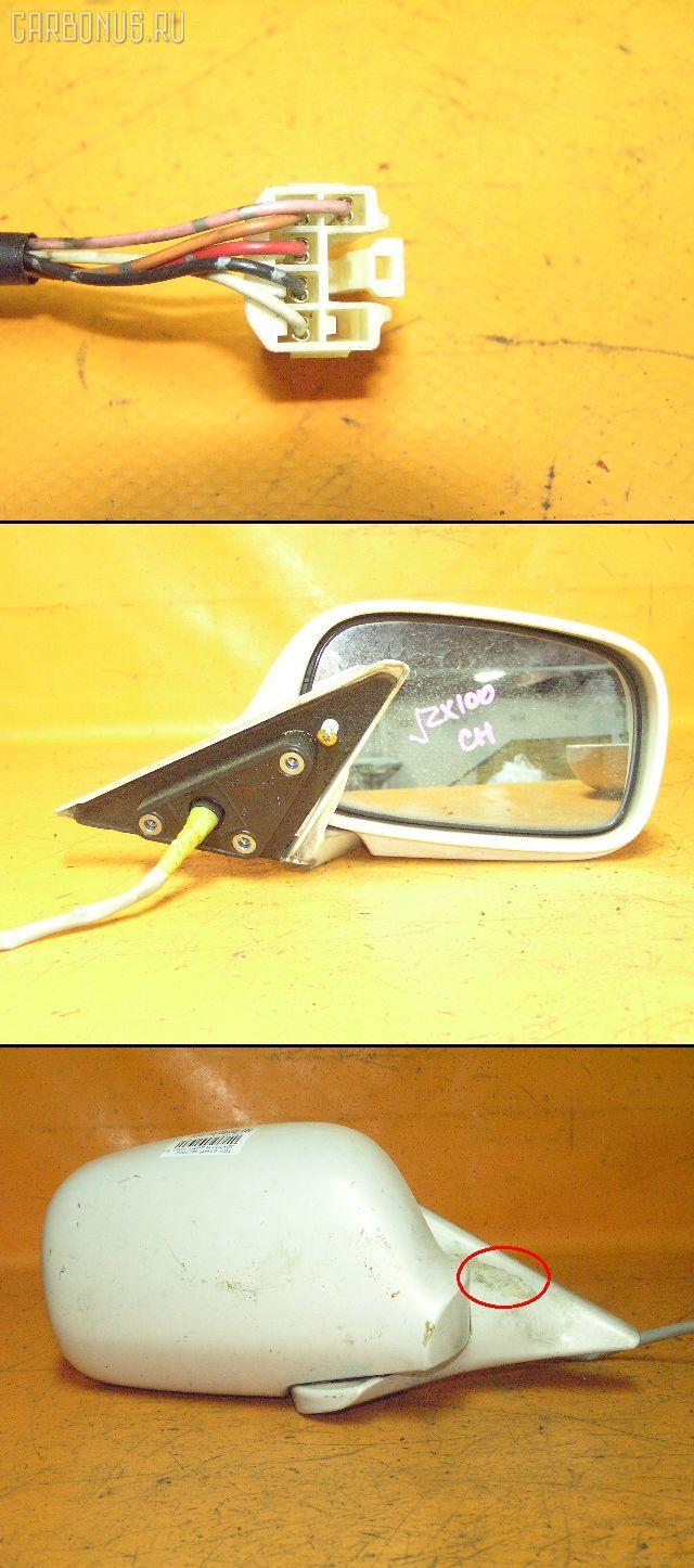 Зеркало двери боковой TOYOTA CHASER JZX100. Фото 4