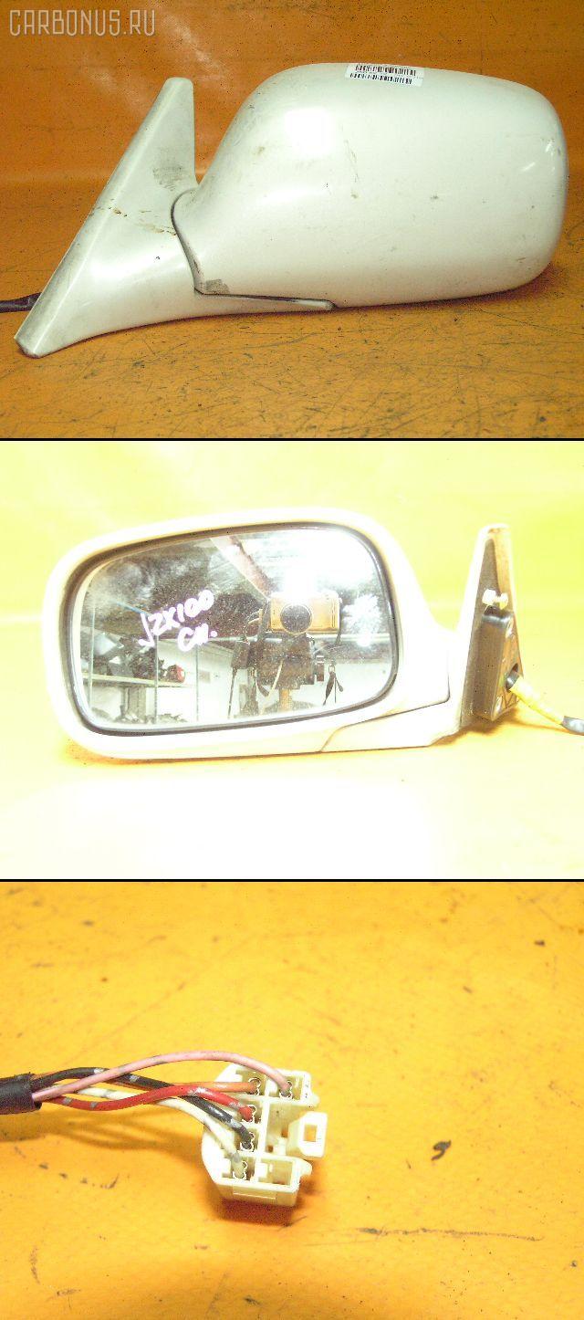 Зеркало двери боковой TOYOTA CHASER JZX100. Фото 3