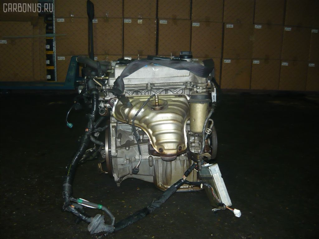 Двигатель TOYOTA PREMIO NZT240 1NZ-FE. Фото 8