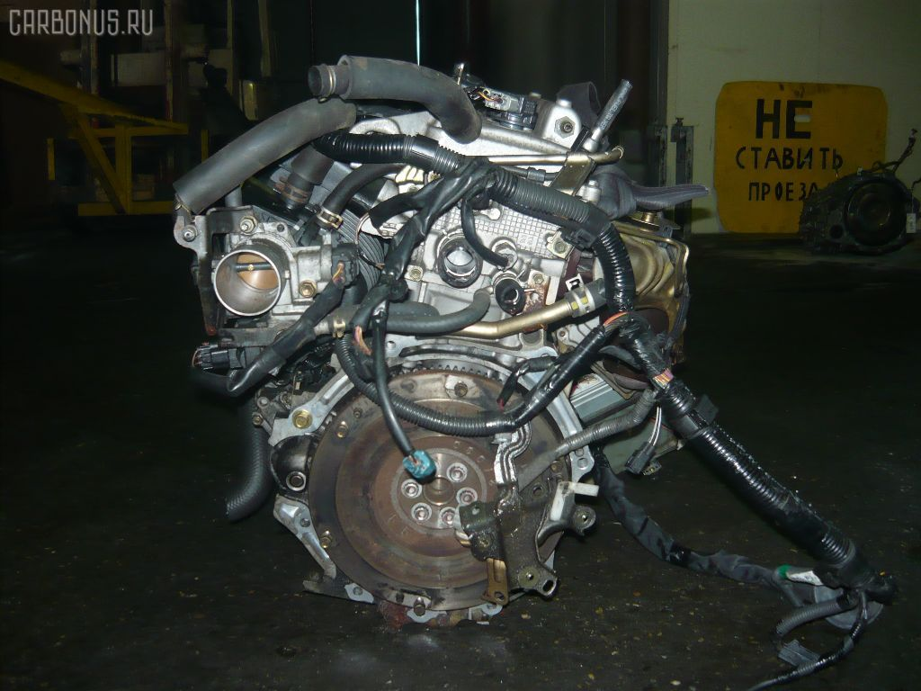 Двигатель TOYOTA PREMIO NZT240 1NZ-FE. Фото 9