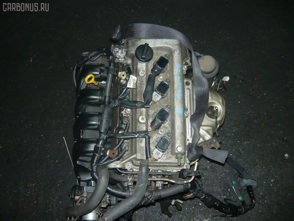 Двигатель TOYOTA PREMIO NZT240 1NZ-FE. Фото 10