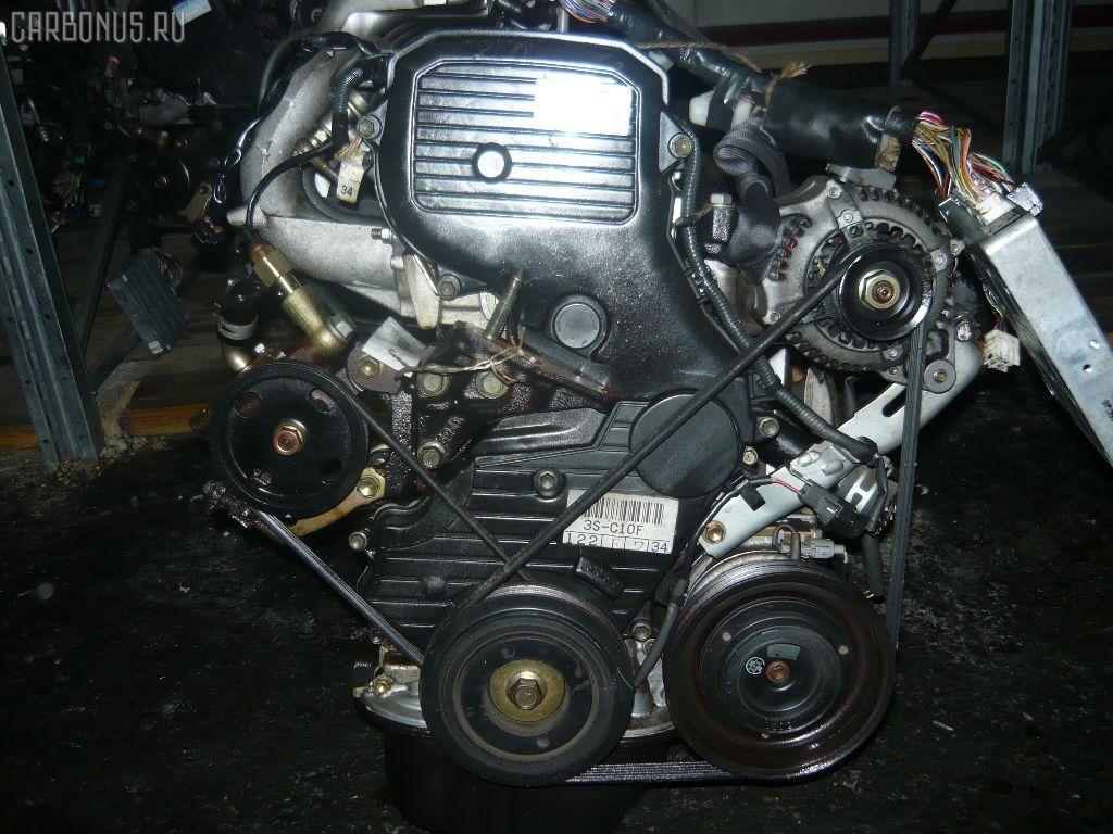 Двигатель TOYOTA CAMRY SV43 3S-FE. Фото 1