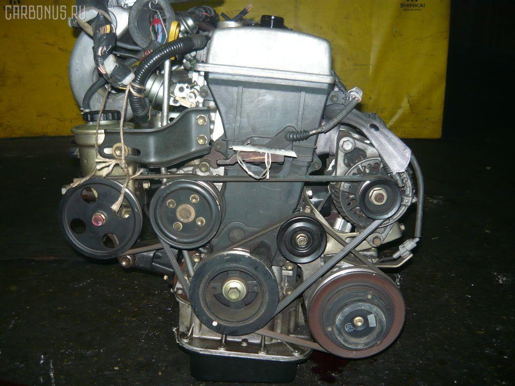 Двигатель TOYOTA CALDINA AT211G 7A-FE. Фото 10