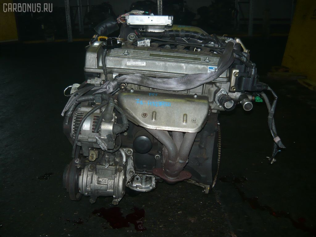 Двигатель TOYOTA CALDINA AT211G 7A-FE. Фото 11