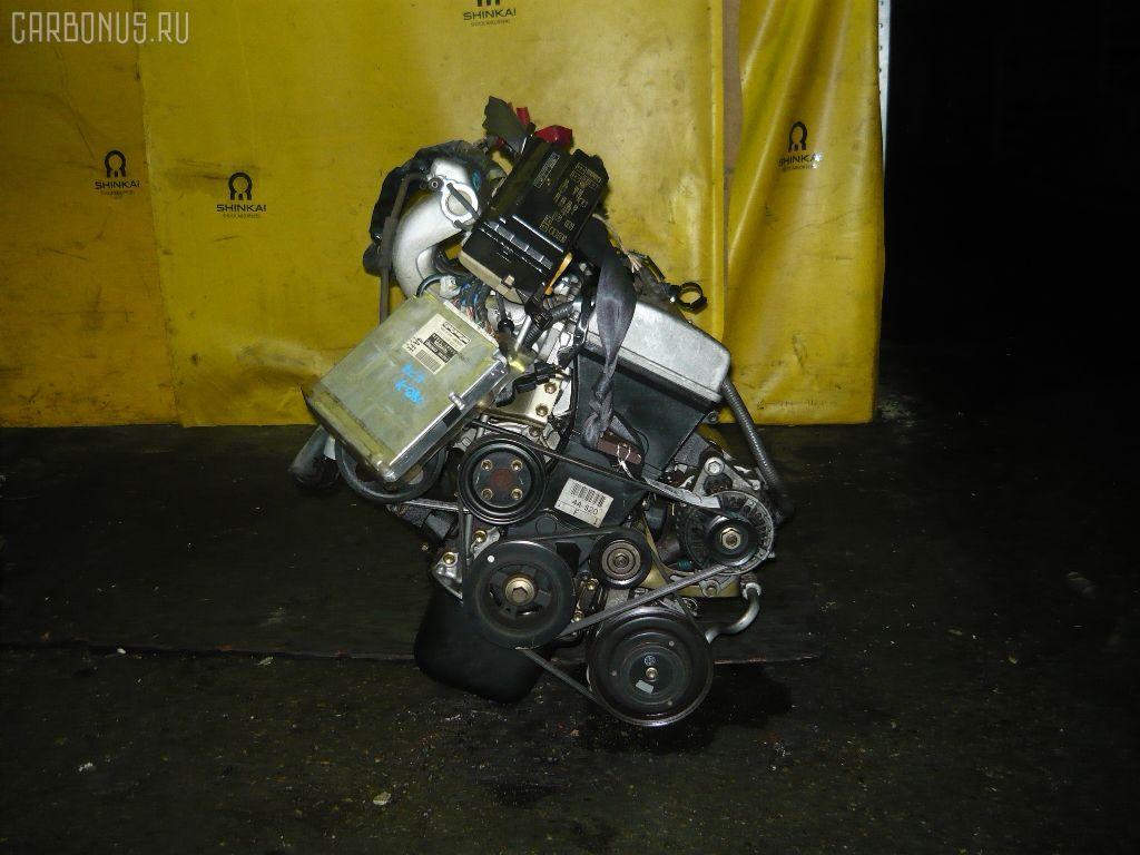 Двигатель TOYOTA COROLLA SPACIO AE111N 4A-FE. Фото 1