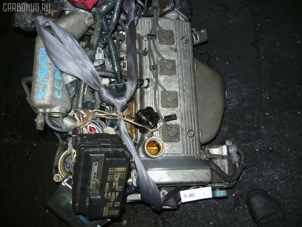 Двигатель TOYOTA COROLLA SPACIO AE111N 4A-FE. Фото 5