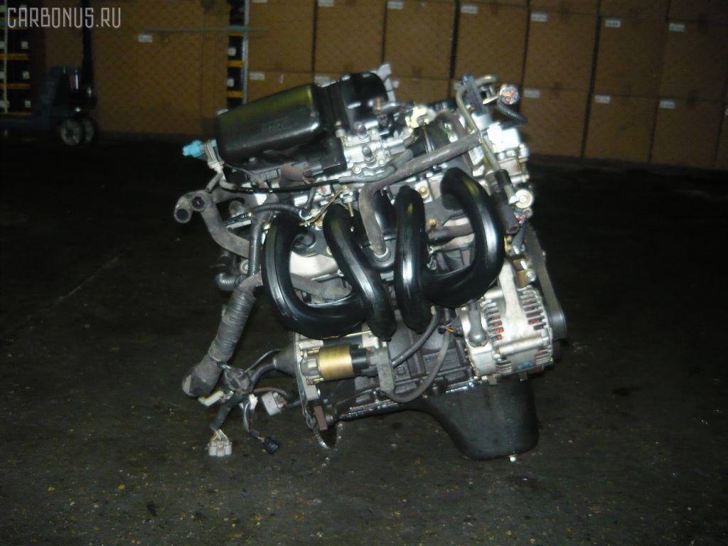 Двигатель TOYOTA VITZ SCP10 1SZ-FE. Фото 10
