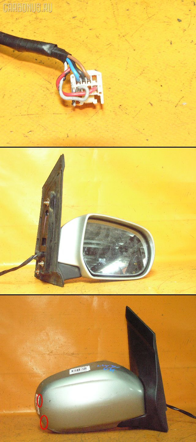 Зеркало двери боковой MAZDA MPV LW3W. Фото 1