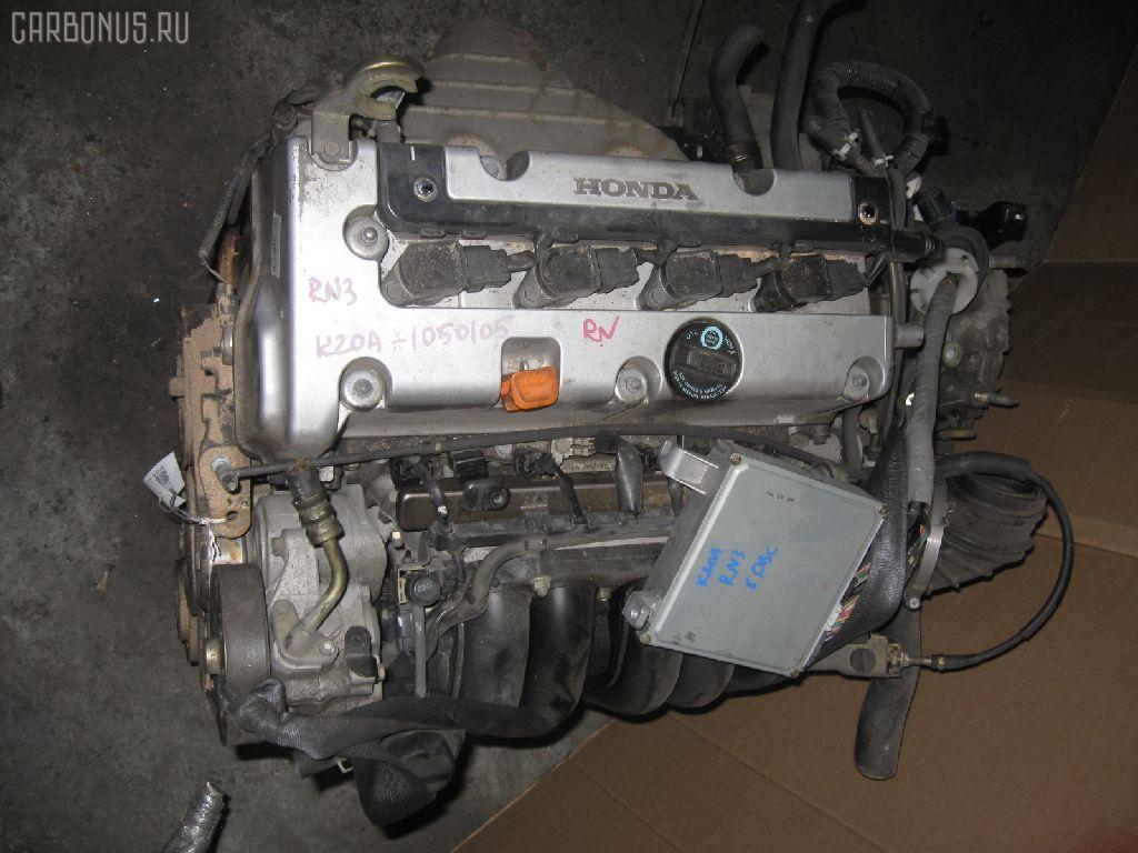 Двигатель HONDA STREAM RN3 K20A. Фото 9