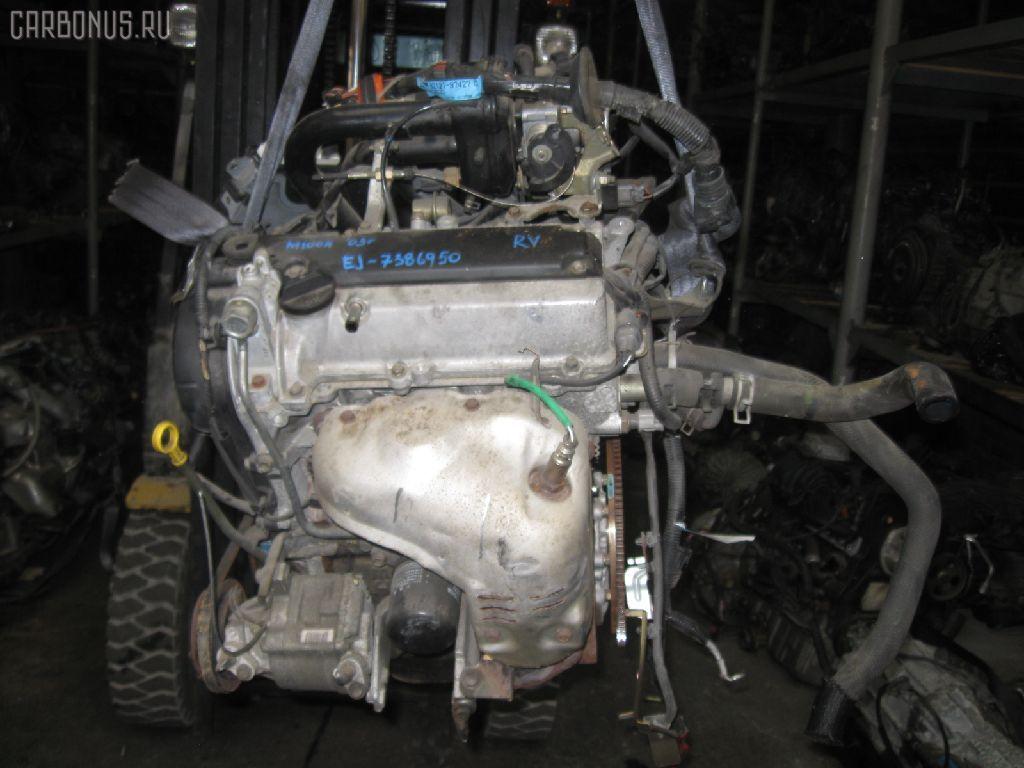 Двигатель TOYOTA DUET M100A EJ-VE. Фото 2
