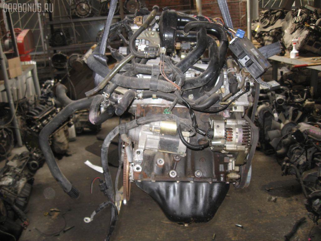 Двигатель TOYOTA DUET M100A EJ-VE. Фото 4
