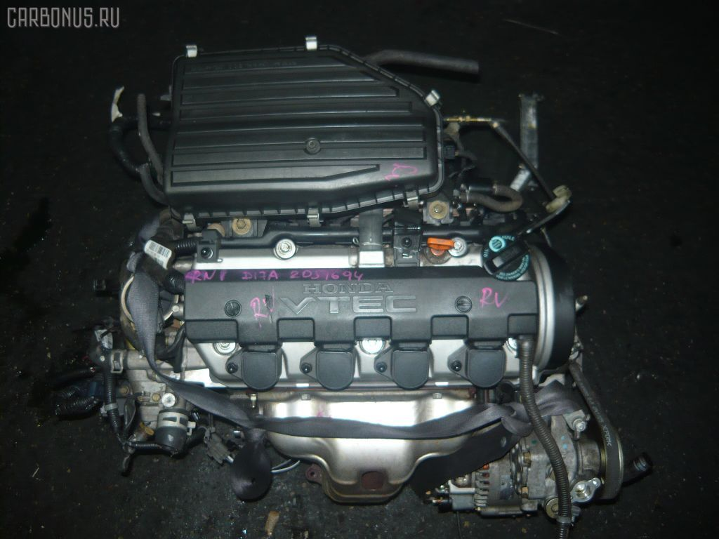 Двигатель HONDA STREAM RN1 D17A. Фото 9